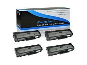 4PK MLT-D101S Toner Cartridge Compatible For Samsung SCX-3405 SCX-3405W ML2165W