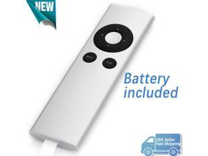 Replacement for Apple TV Remote Control A1427 A1469 A1378 MC377LL/A with Battery