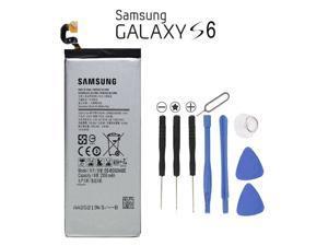New Genuine Samsung Galaxy S6 Battery EB-BG920ABE SM-G920 Replacement + Tools