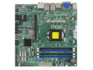 Supermicro LGA1150 Core i3/i5/i7 Q87 32GB DDR3 PCI Express SATA USB microATX Retail   Motherboard