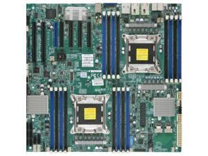 Supermicro EATX (Extended ATX) DDR3 1600 Intel - LGA 2011 Motherboards X9DAX-ITF-O Motherboard