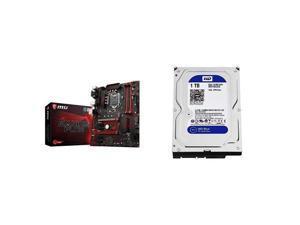 MSI Performance Gaming Intel 8th Gen DVI DP  LGA 1151 M.2 D-Sub USB 3.0 Gigabit LAN CFX ATX Motherboard
