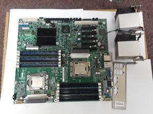 Intel S5520HCR  S5520HC with 2 x Xeon E5620, 12GB, Fans and i/O shield; EATX size