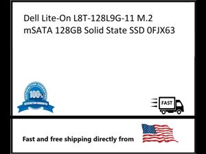 Solid State SSD Dell Lite-On L8T-128L9G-11 M.2 mSATA 128GB 0FJX63