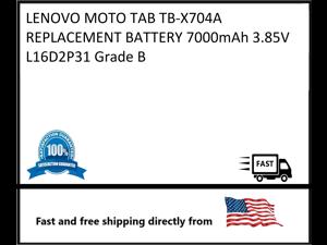 REPLACEMENT BATTERY LENOVO MOTO TAB  7000mAh 3.85V L16D2P31 TB-X704AGrade B