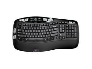 Logitech K350  w/Unifying Receiver Wireless Wave Ergonomic Keyboard
