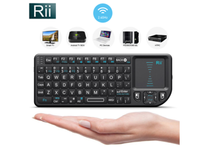 Rii X1 2.4Ghz  touchpad for PC smart TV Rasberry PI 012 Mini Wireless Keyboard