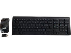 HP Wireless English-French CA Keyboard Mouse  Sydney Melbourne CA/EN-FR 704221-DB1