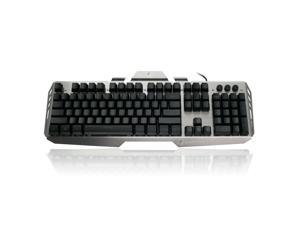 Iogear Kaliber  Gaming Keyboard - Black/gray - (gkb704lbk) Gaming Hver Aluminum