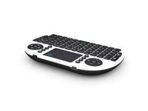 Rii i8BT Mini Wireless Keyboard With Touchpad Bluetooth WHITE 10036 Slim Design