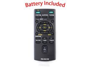 Replace Remote for Sony New RM-ANU192 HT-CT60BT SA-CT60BT SA-CT60 Sound Bar