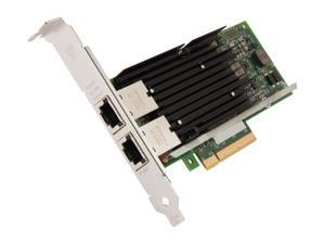 Intel X540T2 Ethernet Converged Network Adapter /10Gbps/100Mbps/1Gbps PCI Express 2.1 x8 2 x RJ45