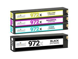 4pk 972X Ink Cartridges for HP Pagewide Pro 477dn 477dw 552dw 577dw