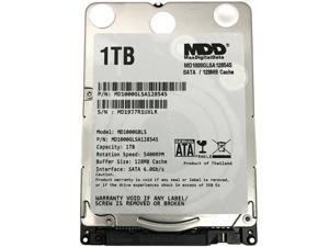"New MDD 1TB 5400RPM 128MB Cache 7mm 2.5"" SATA 6Gb/s Internal Notebook Hard Drive"
