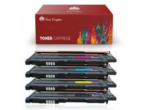 4Pack CLT-407S Toner For Samsung CLX-3180 CLX-3185FW CLX-3185N CLX-3186 Printer