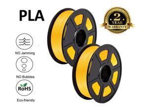 Filament 1.75 PLA 3D Filament PLA Plus for 3D Printer & 3D Pens, PLA Filament Weight 2.2 LBS (1 KG), Printing Accuracy +/- 0.02 Eco-friendly PLA 3D Filaments