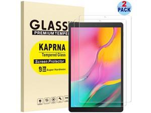 [2-Pack] KAPRNA Screen Protector for Samsung Galaxy Tab A 10.1 2019 SM-T510/T515, Tempered Glass Film for Samsung Galaxy Tab A 10.1 Inch (2019) Tablet (High Definition)