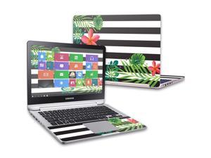 """MightySkins Skin Compatible with Samsung Notebook 7 Spin 13.3"""" (2016) wrap Cover Sticker Skins Tropical Stripes"""