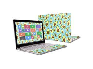 """MightySkins Skin Compatible with Asus ZenBook Pro UX501VW 15.6"""" (2016) wrap Cover Sticker Skins Blue Avocados"""