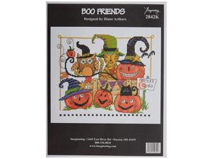 M & R Technologies Boo Friends Counted Cross Stitch Kit