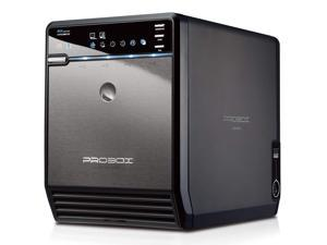 Mediasonic ProBox 4 Bay 3.5 Hard Drive Enclosure USB 3.0 eSATA Sata 3 6.0Gbps