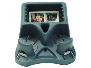 Barjan 1010702053 Spillmaster Mini Console with Drink Holder - Blue