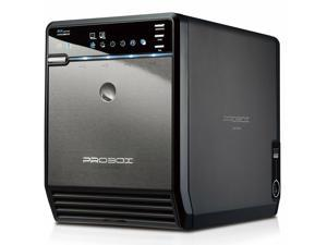 "Mediasonic ProBox HF2-SU3S2 4 Bay 3.5"" SATA HDD Enclosure – USB 3.0 & eSATA S..."