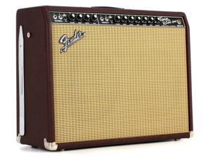 "Fender 65 Twin Reverb Neo 2x12"" 85-watt Tube Combo Amp - Wine Red Sweetwater"