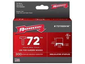 """Arrow Fastener #721168HW 31/64"""" Staple For T72,No 721168HW"""