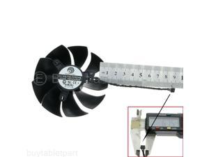Right Cable 8.5cm Graphics Card Cooling fan EVGA RTX 2060 2070 2080 2080ti 4pin