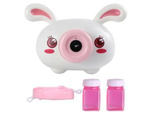 Electric Automc Bubble Blowing Maker Camera with cute design For Kids