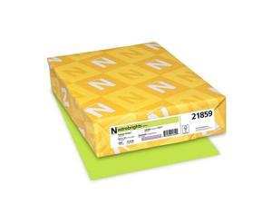 "Neenah 21859 Astrobrights Color Paper, 8.5"" 24lb Colored Vulcan Green"