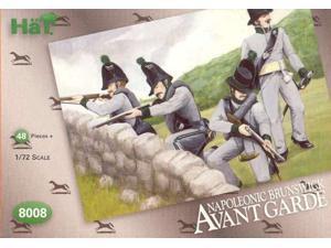 Model Figures - Napoleonic Brunswick Avante Garde. 48 Infantry wi 696957080082