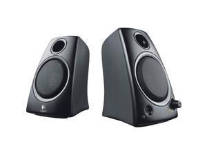 c4d82354ebf Logitech Z130 2.0 Speaker System - 5 W RMSPlacement: Desktop - Black ...