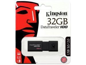 Lot of 10 x Kingston 32GB DataTraveler 100 G3 USB 3.0 Flash Drive DT100G3/32GB