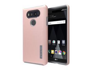 New OEM Incipio DualPro Iridescent Rose Gold/Gray Case For LG V20