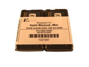 8GB KIT (2 X 4GB) PC3-8500 MacBook Pro Mid 2010 A1278 MC374LL/A MC375LL/A Memory