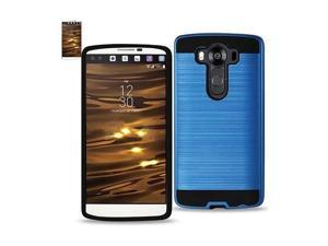 For LG V10 Case Hybrid Metal Brushed Shockproof TPU ...