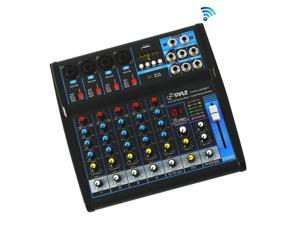 Pyle Professional Audio Mixer Sound Board Console ...