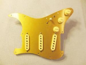 Fender Pure Vintage 59 Loaded Strat Pickguard White on Tortoise 7 Way USA Made