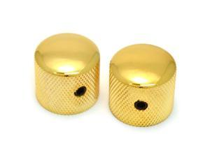 Gold Bell Knobs for Import Guitar//Bass w//Coarse 6mm Split Pots PK-MBI-G 2