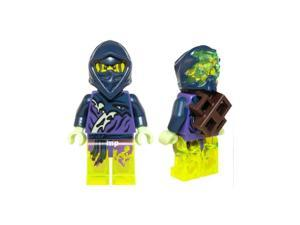 LEGO Ninjago Hackler Ghost Ninja Warrior Minifigure NEW 2015 70734