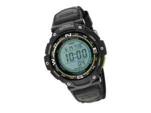 Casio Mens SGW-100B-3A2CF Twin Sensor Digital Display Quartz Black Watch