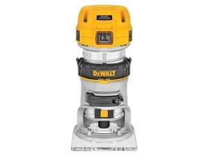 DeWALT DWP611 1.25HP Compact Premium VS Woodworking Router Tool - LED Lighted