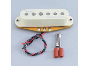 New Fender GEN 4 Noiseless Stratocaster Strat Guitar Bridge Pickup AGED WHITE