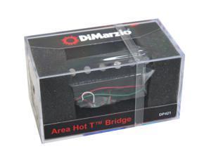 DiMarzio DP421BK Area Hot T Bridge Fender Tele Telecaster Guitar Pickup - Black