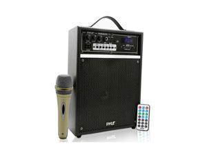 267b94118b0 Pyle Pro 300 Watt Outdoor Indoor Wireless Bluetooth Portable PA Speaker ...