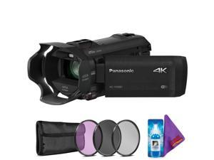Panasonic HC-VX981K 4K Ultra HD Camcorder + Creative Filter Kit