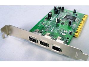 BUSlink 3-Port 1394 FireWire PCI Card PCIFW