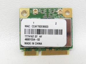 ATHEROS AR5B97 HALF-HEIGHT-MINI-CARD WIRELESS N HB97 AR9287 Tested Good